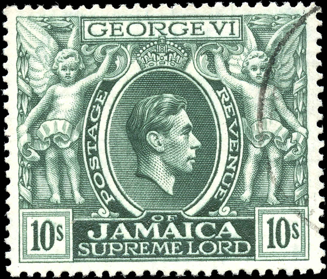 Jamaica, #128, F-VF, Used