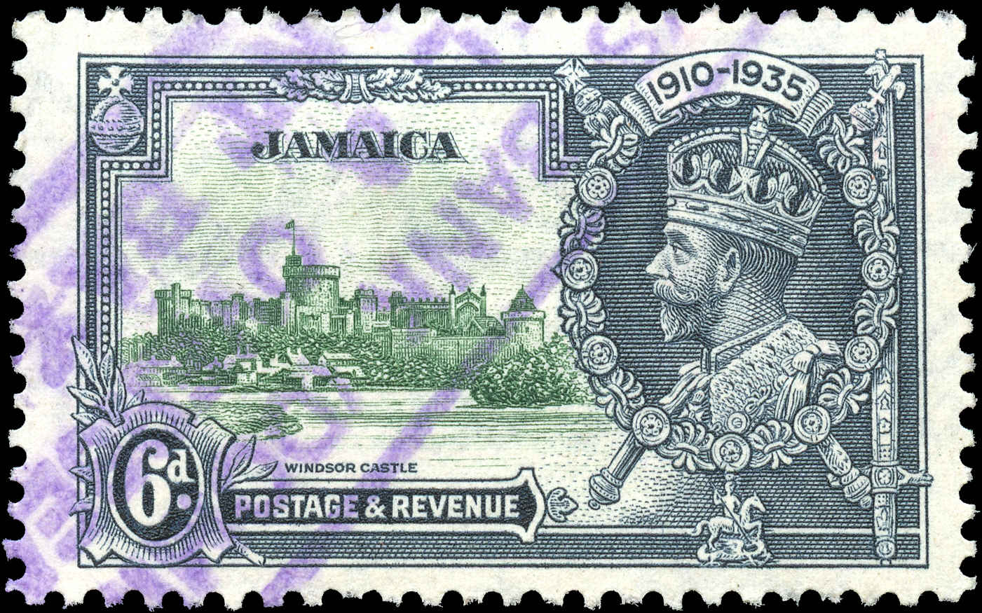 Jamaica, #111, F-VF, Used