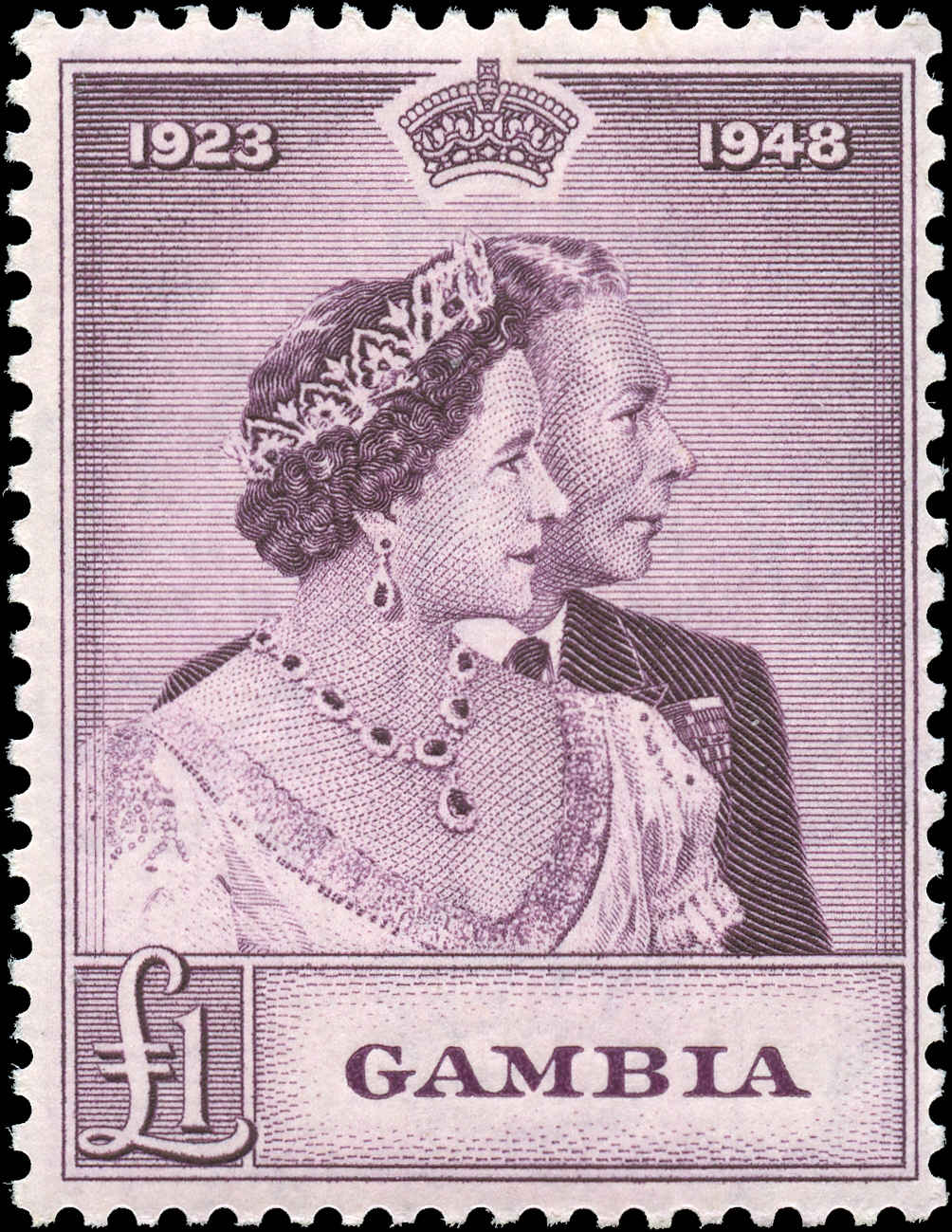 Gambia, #147, F+, MH