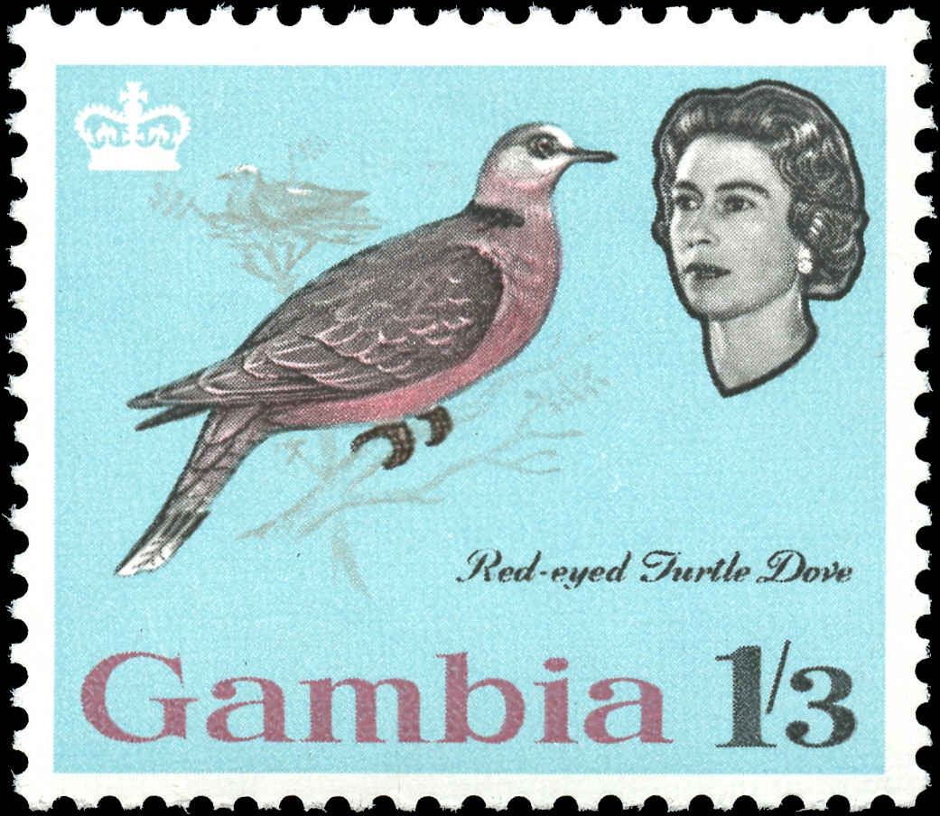 Gambia, #183, F-VF, MH