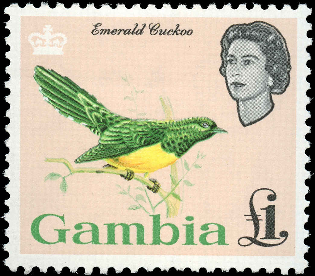 Gambia, #187, F-VF, MH