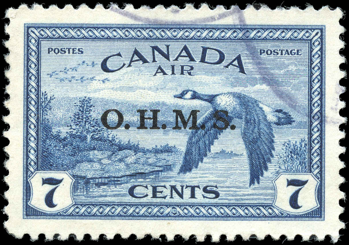 Canada #CO1, VF, Used