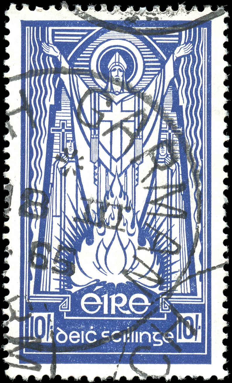 Ireland, #123, F-VF, Watermark 262, Used
