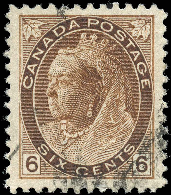 Canada ##80, Numeral Issue, F-VF, Used
