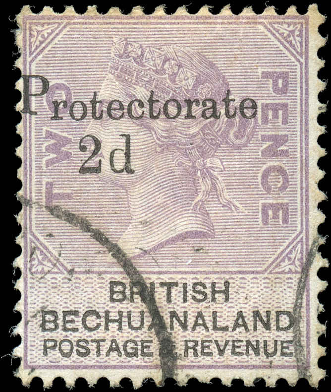 Bechuanaland Protectorate, ##61, F, Used