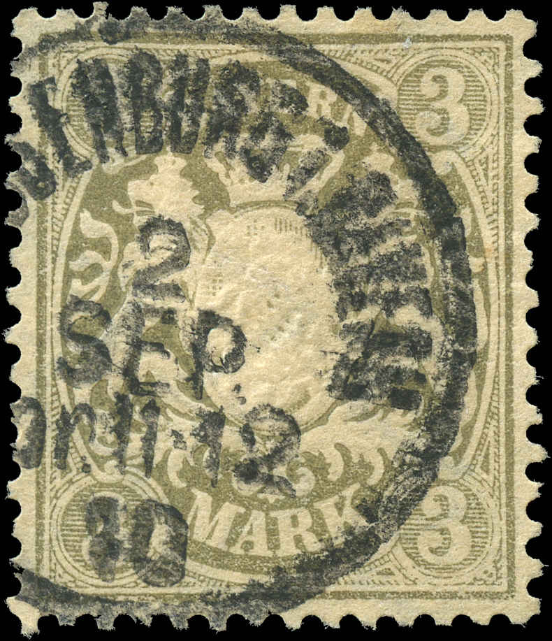 German States - Bavaria,  ##56, F-VF, Used