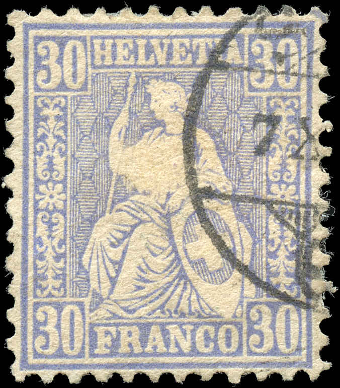 Switzerland ##56, F-VF, Used