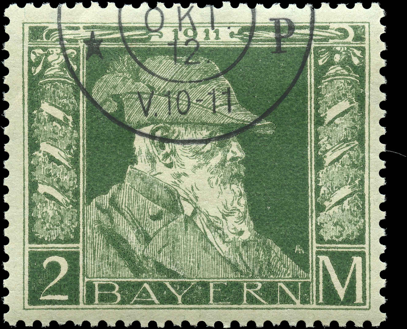 German States - Bavaria,  ##87, F-VF, Used