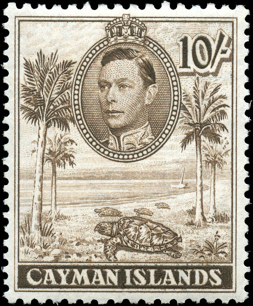 Cayman Islands, #111, F-VF, MH.