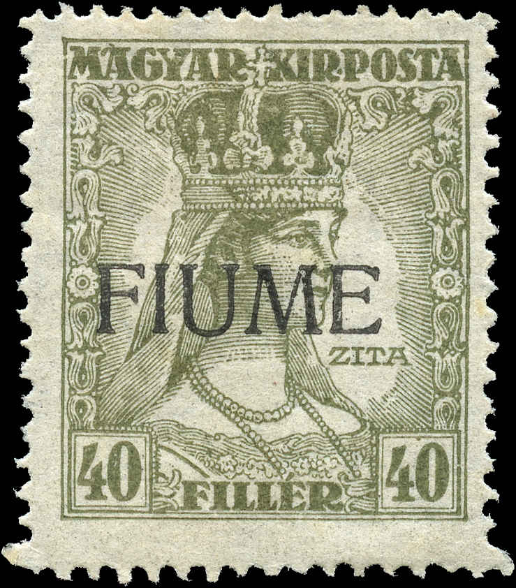 Fiume, ##23a, F+, MH