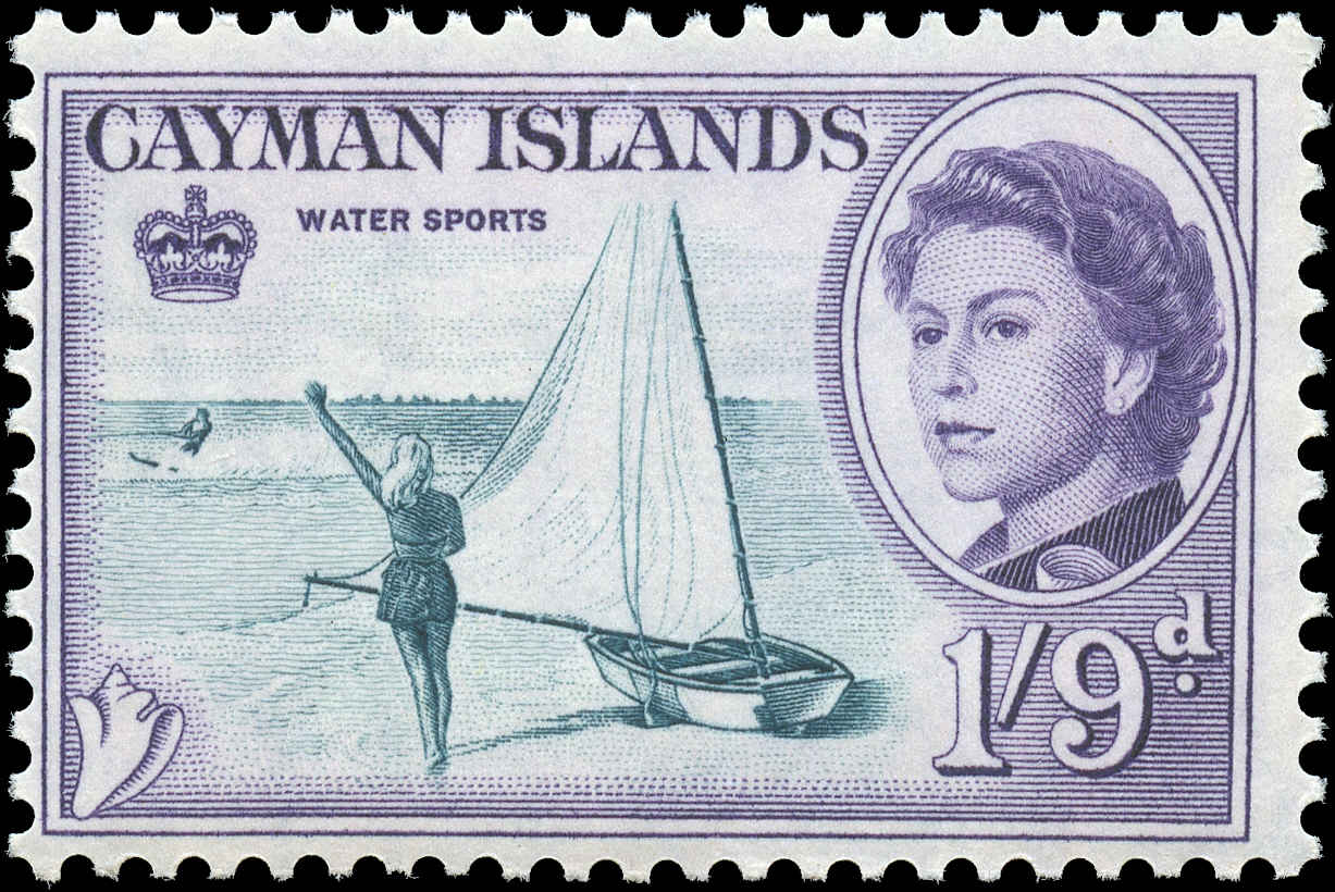 Cayman Islands, #164, F+, MNH