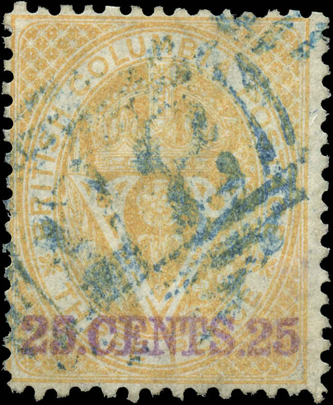 Colony-BNA-British Columbia ##11, F, Used