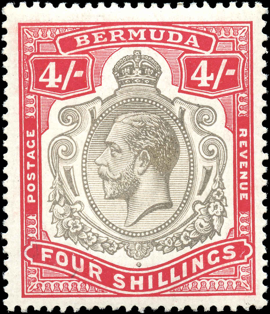 Bermuda Stamp, Scott ##51, F+, MH