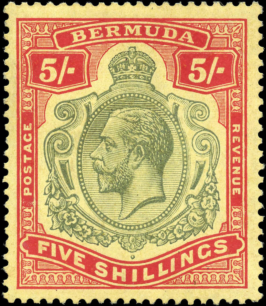Bermuda Stamp, Scott ##52, F-VF, MH