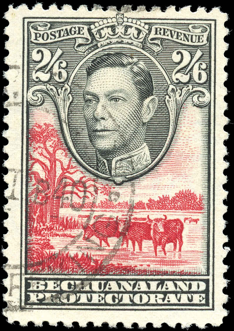 Bechuanaland Protectorate, #133, F-VF, Used