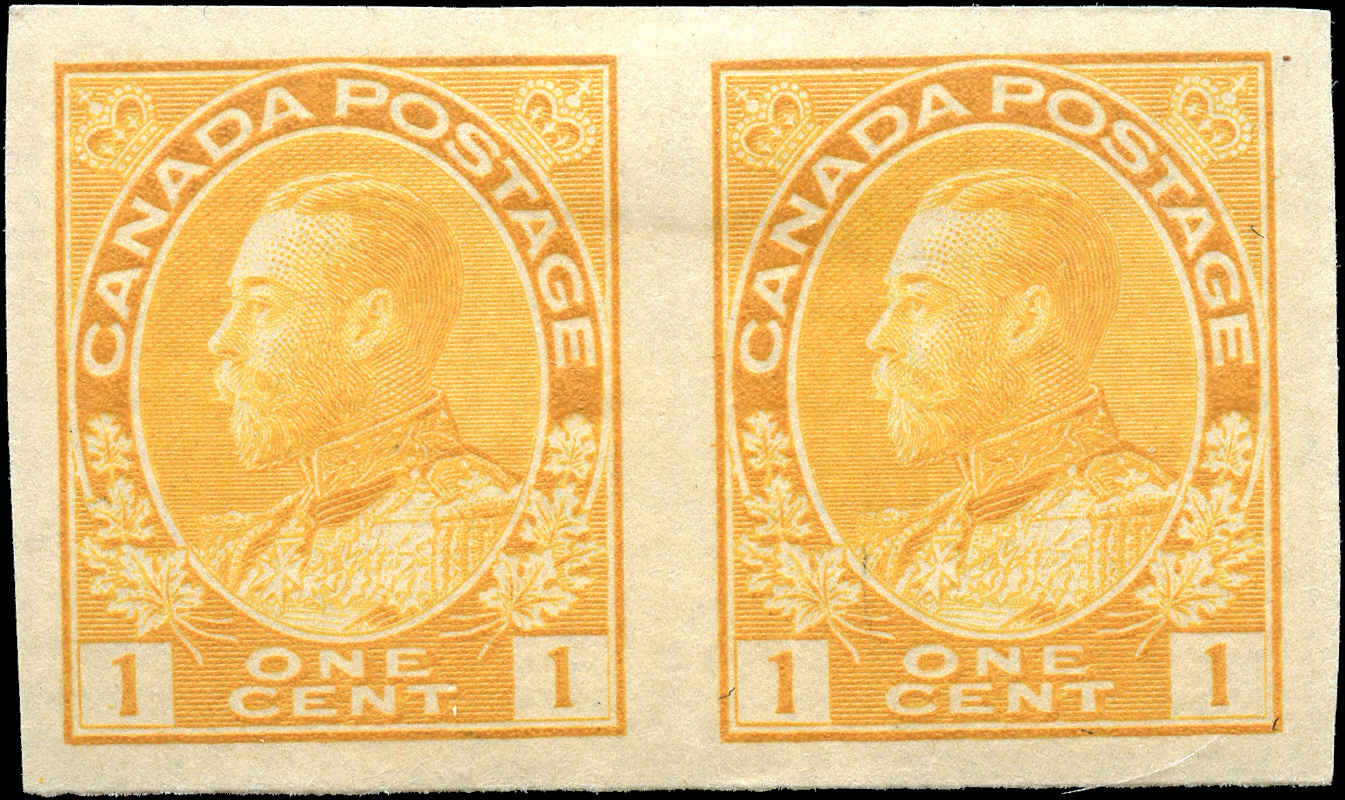 Canada #136, Admiral Issue, VF, MH