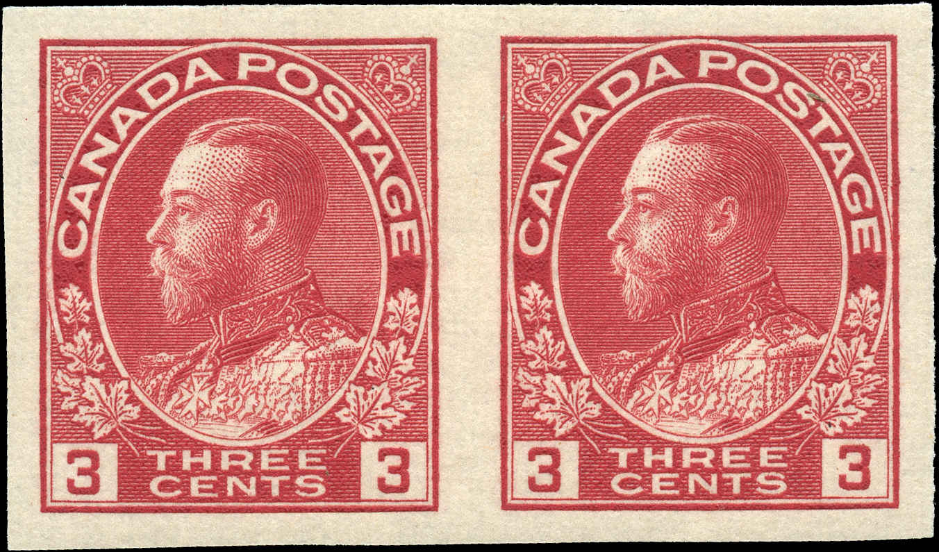 Canada #138, Admiral Issue, VF, MH