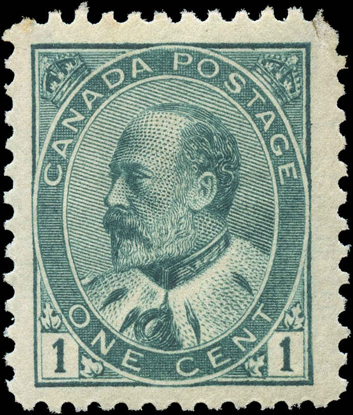 Canada ##89, King Edward VII Issue, F-VF, MH