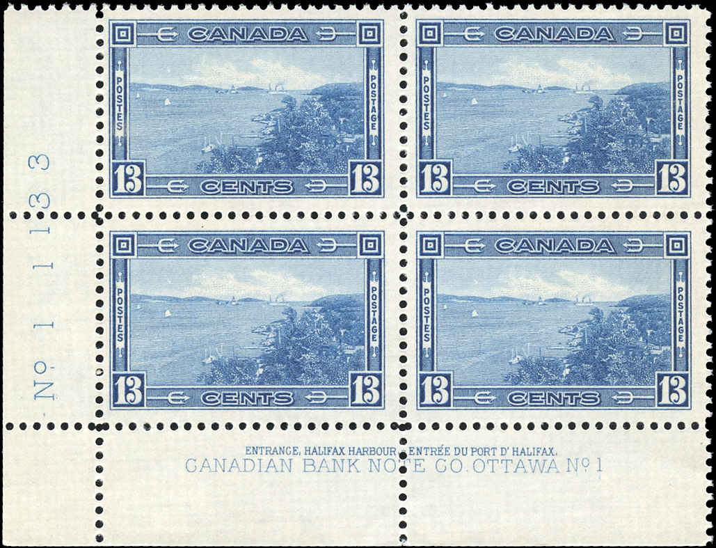 Canada #242, 1938 Pictorial Issue, F-VF, MNH