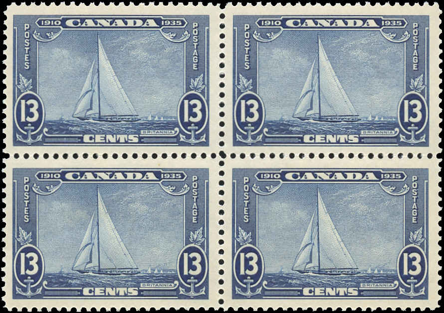 Canada #216, Silver Jubilee Issue, VF, MNH