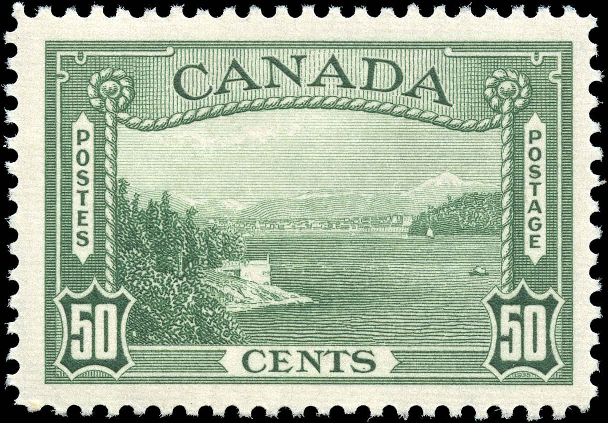 Canada #244, 1938 Pictorial Issue, F-VF, MNH