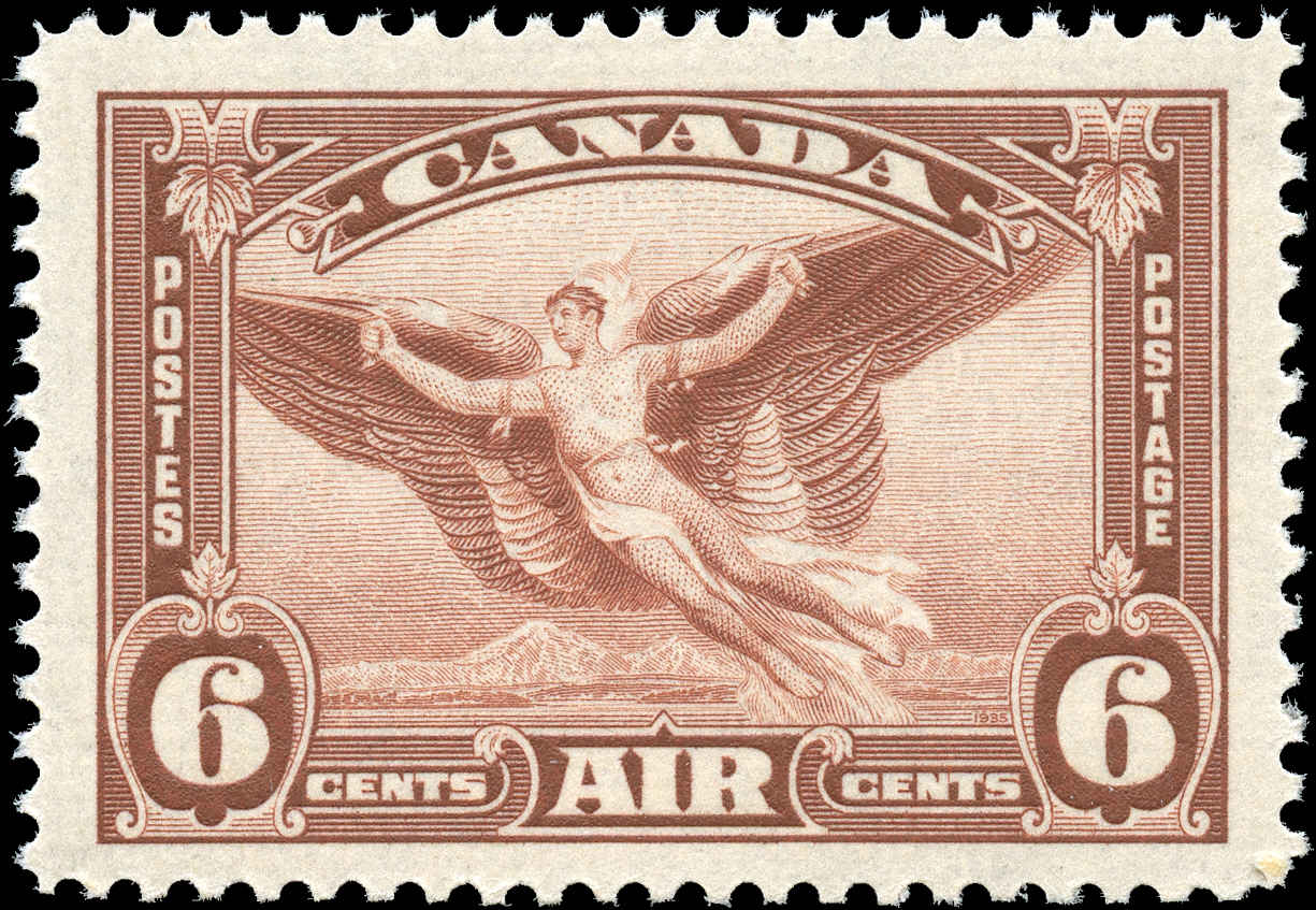 Canada #C5, Airmail Issue, F-VF, MNH