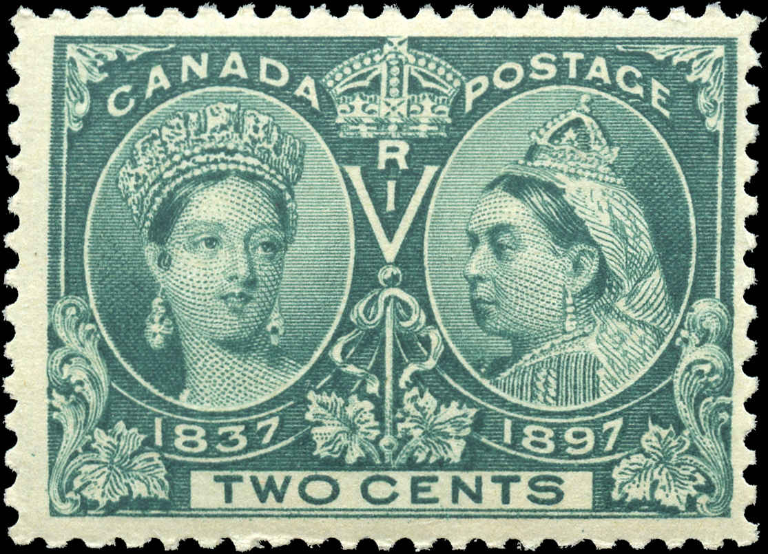 Canada ##52, Jubilee Issue, F+, MNH