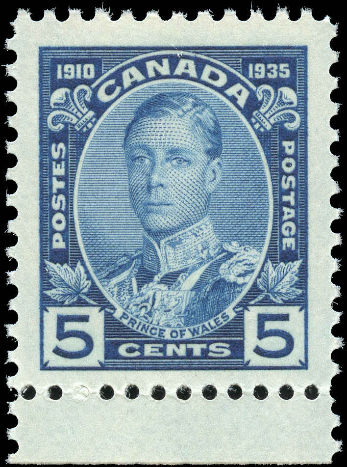 Canada #214, Silver Jubilee Issue, F-VF, MNH