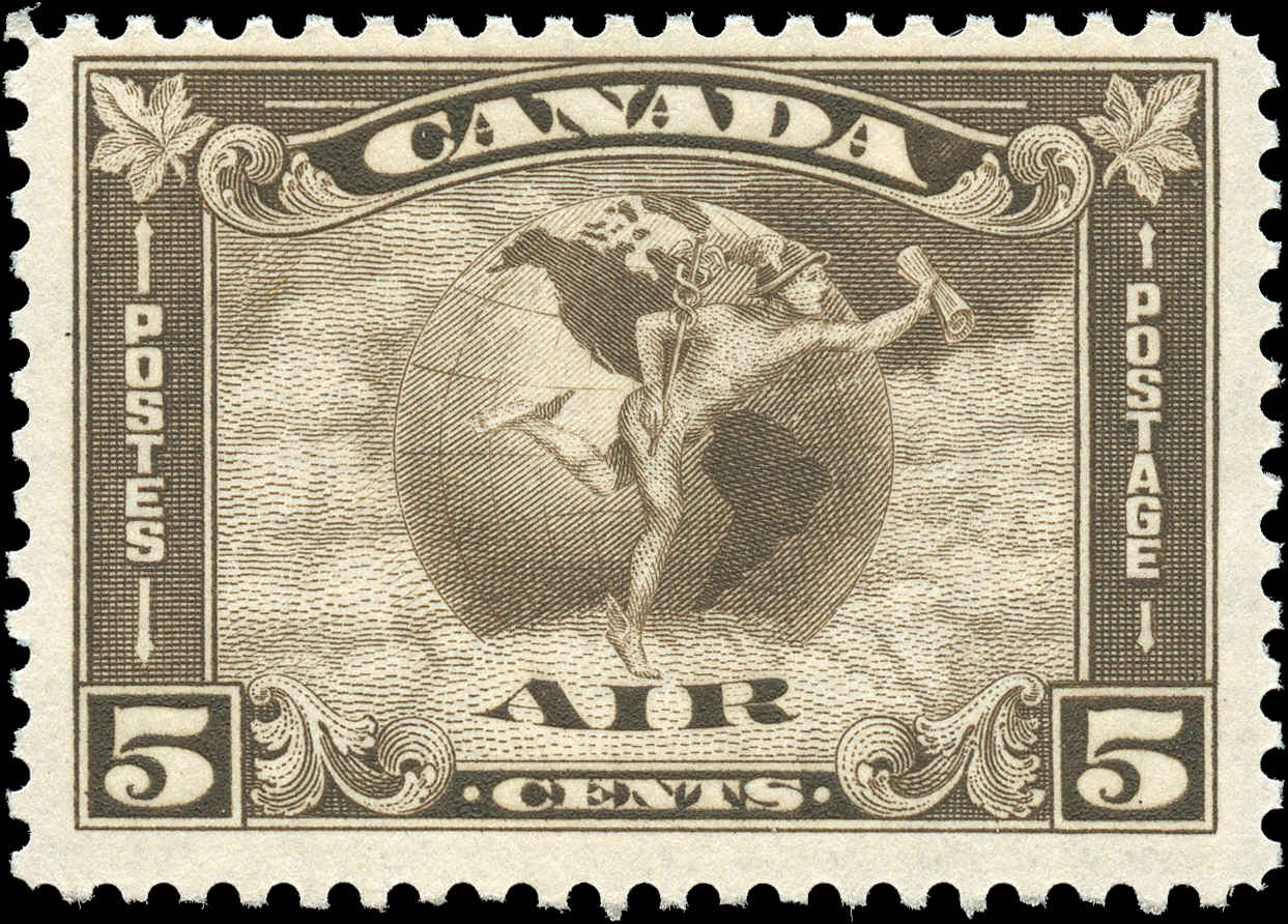 Canada #C2, Airmail Issue, F+, MNH,