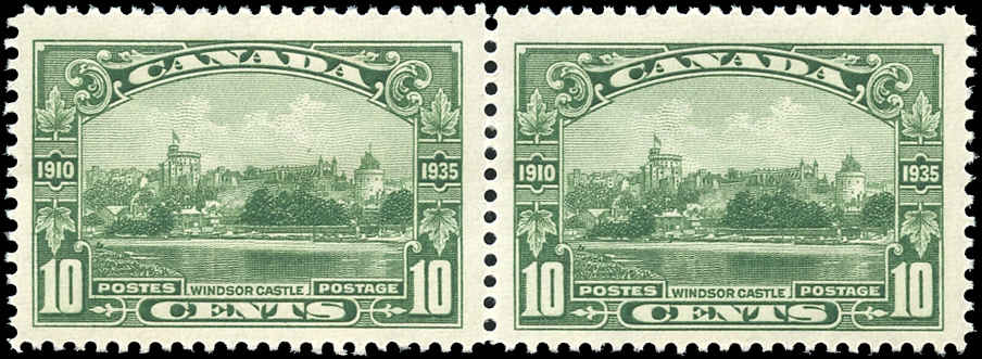 Canada #215, Silver Jubilee Issue, F-VF, MNH