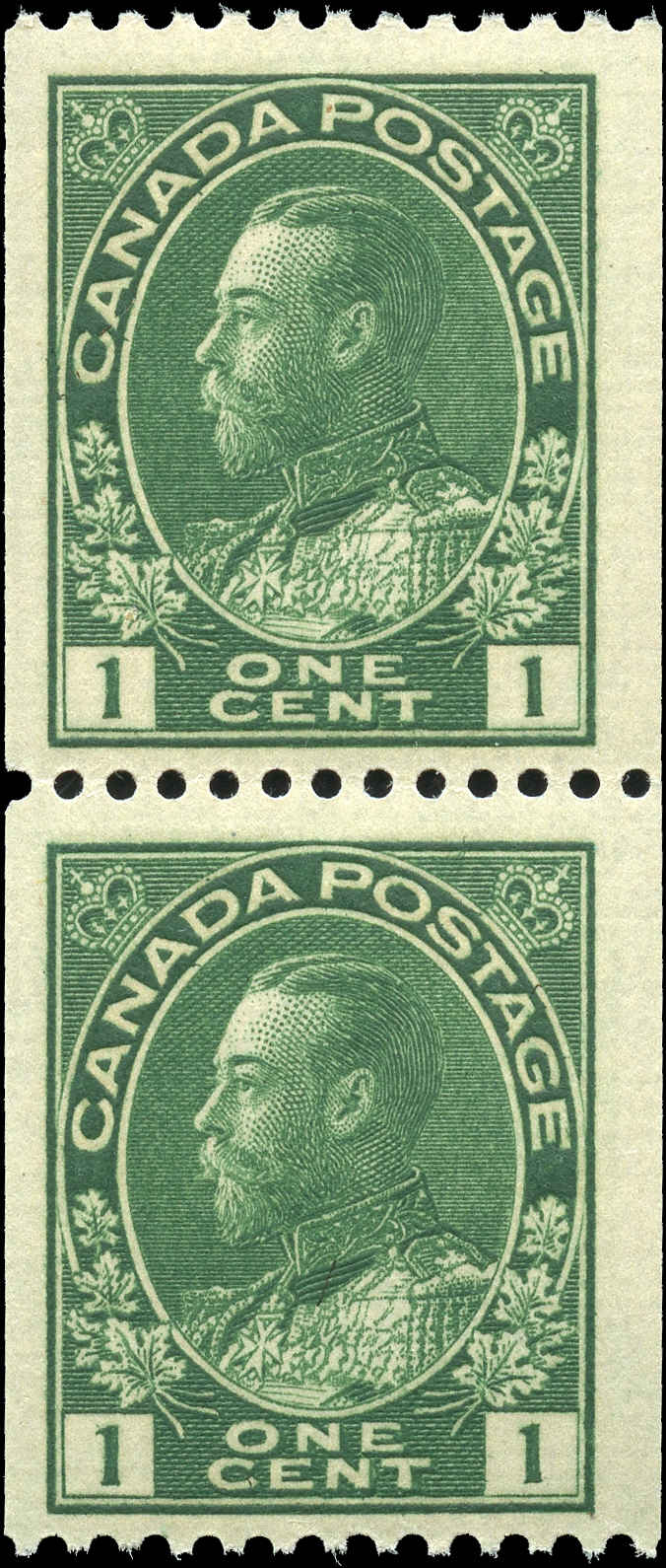 Canada Stamp, Scott #131 Pair, F-VF, MNH