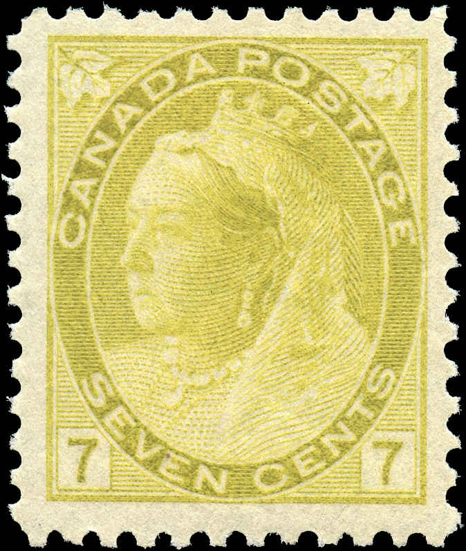 Canada ##81, Numeral Issue, F-VF, MNH