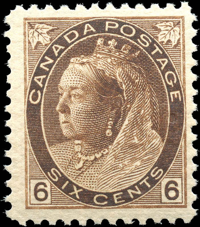 Canada ##80, Numeral Issue, F-VF, MNH