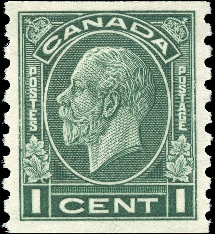 Canada #205, Coil Medallion Issue, VF, MH