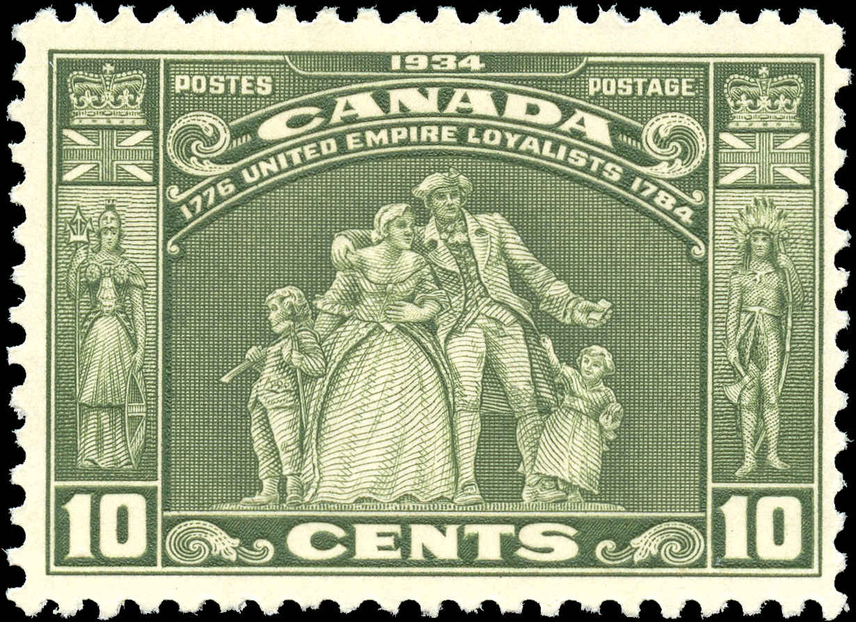 Canada #209, Loyalists Issue, F-VF, MNH