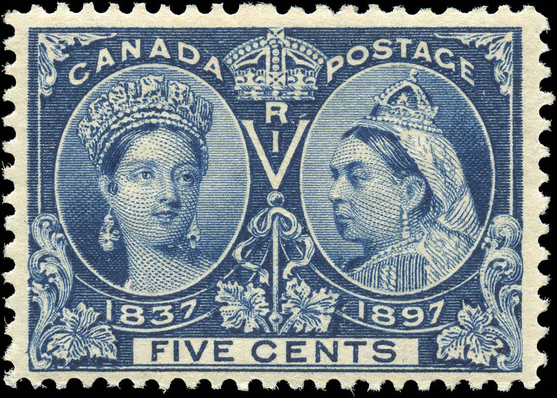 Canada ##54, Jubilee Issue, F-VF, MNH