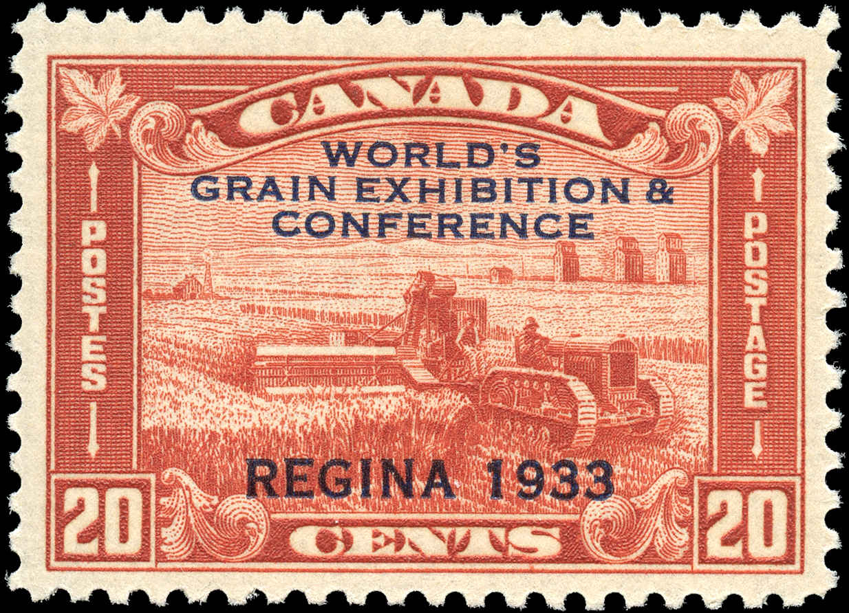 Canada #203, Grain Issue, F-VF, MNH