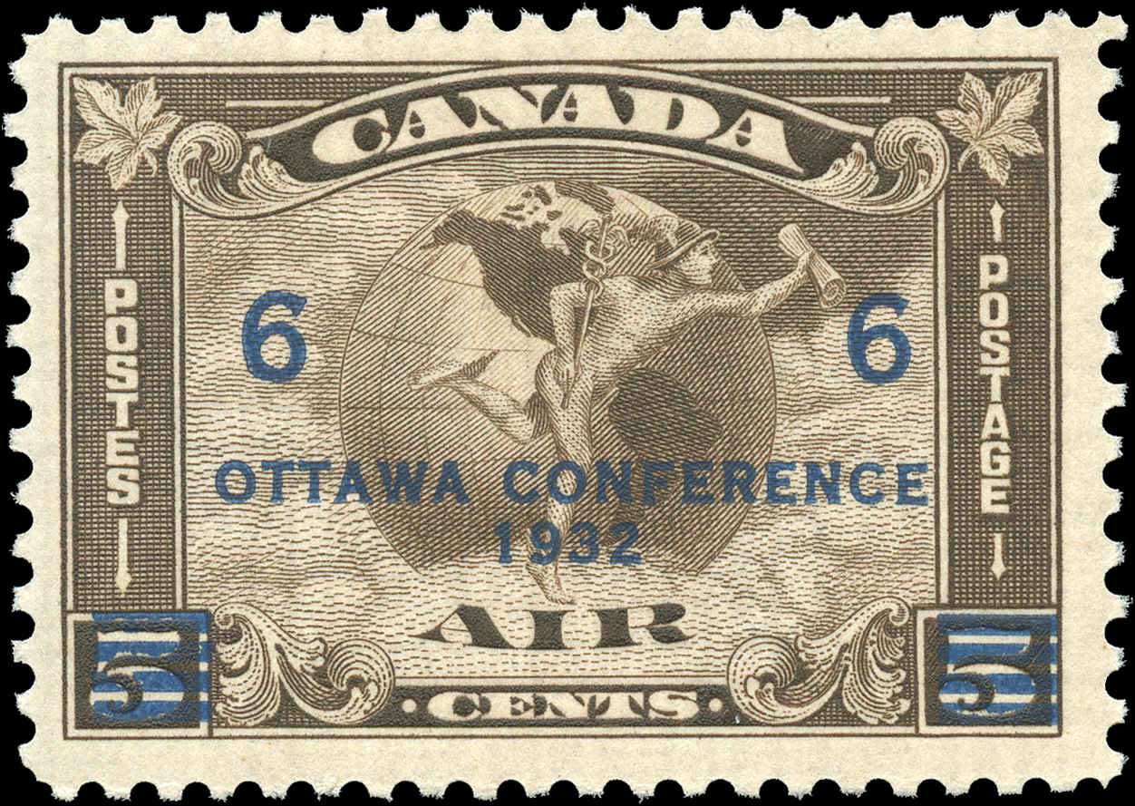 Canada #C4, Airmail Issue, F-VF, MNH