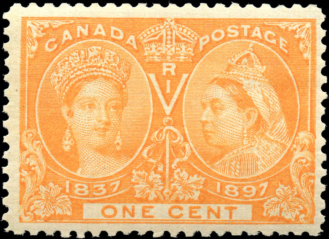 Canada ##51, Jubilee Issue, F-VF, MNH