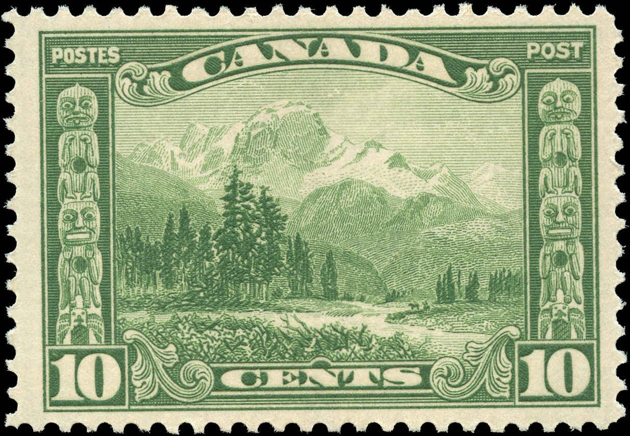 Canada #155, Scroll Issue, F-VF, MNH