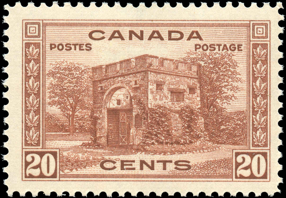 Canada #243, 1938 Pictorial Issue, F-VF, MNH