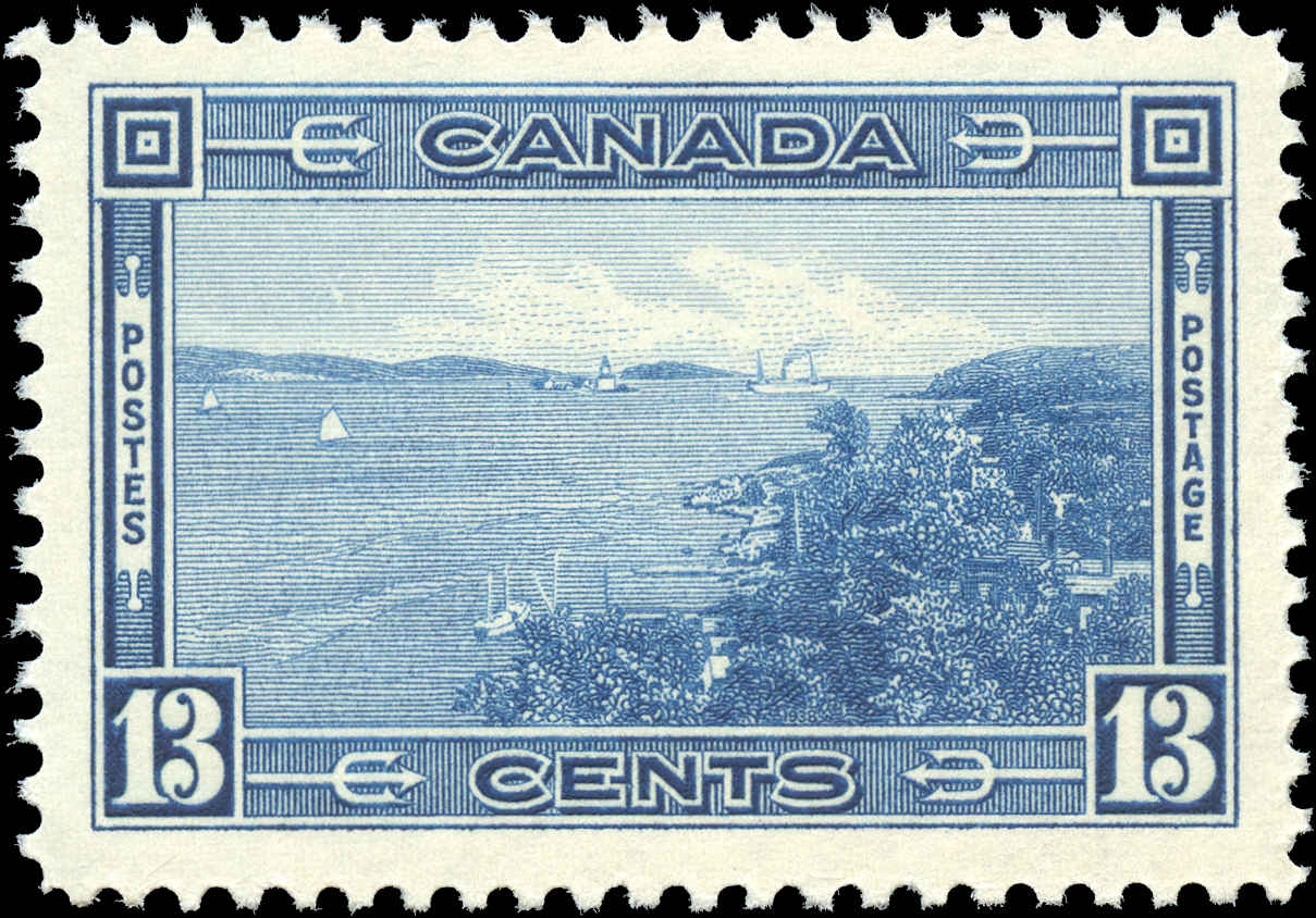 Canada #242, 1938 Pictorial Issue, VF, MNH