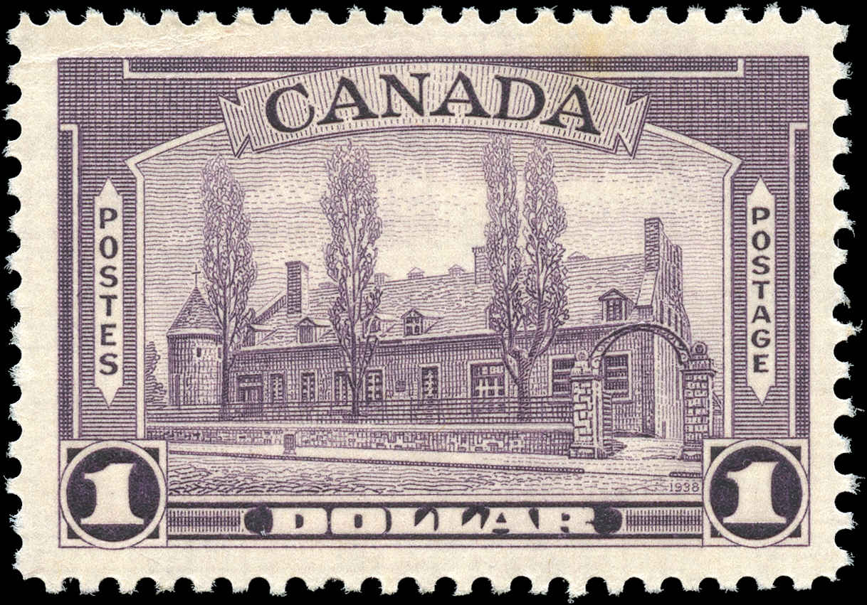 Canada #245, 1938 Pictorial Issue, F-VF, MNH