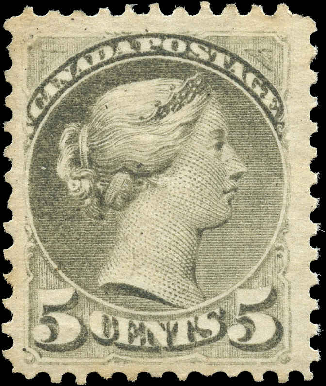 Canada ##38, Small Queen Issue, F-VF, MNH