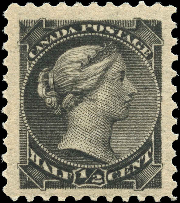 Canada ##34, Small Queen Issue, F-VF, MNH