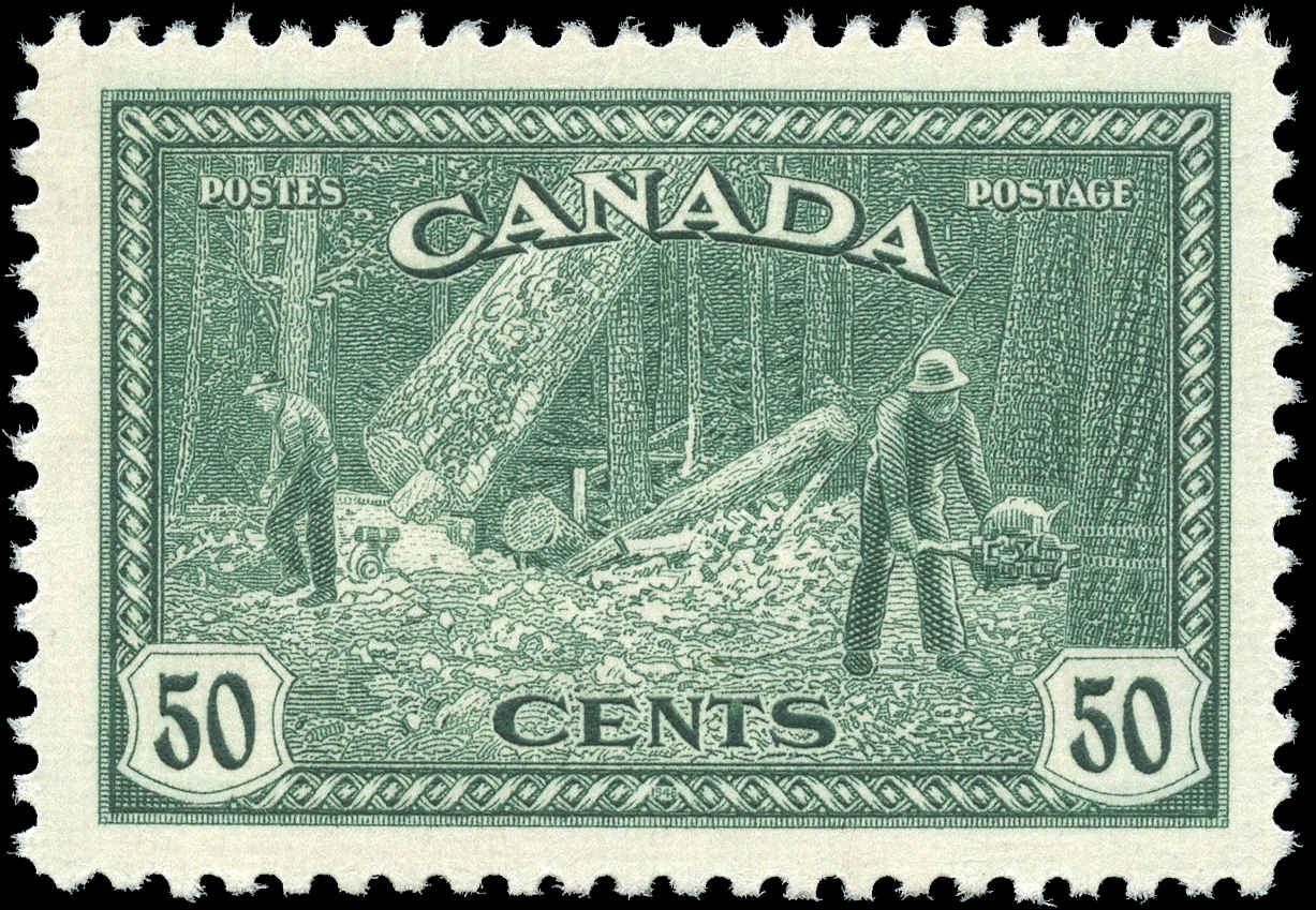 Canada #272, Peace Issue, VF, MH