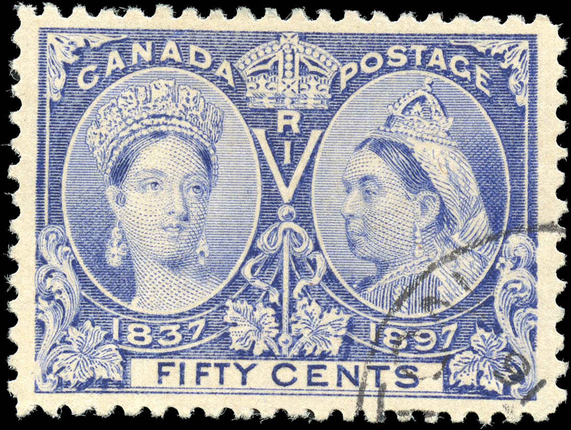 Canada ##60 Jubilee Stamp VF Used