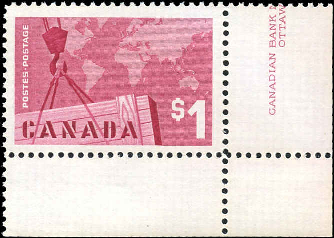 Canada #411, Cdn Exports Issue, VF, MNH