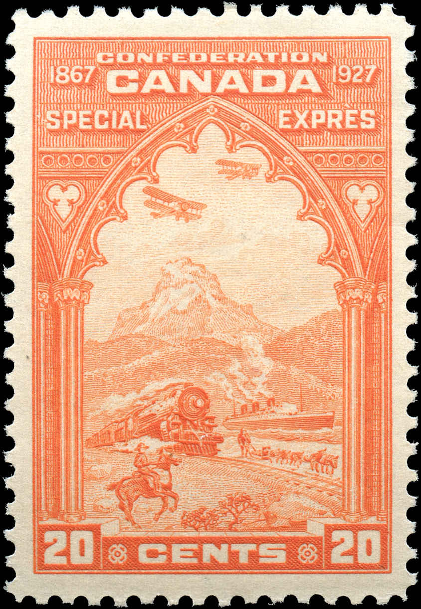 Canada #E3, Special Delivery Issue, F-VF, MH