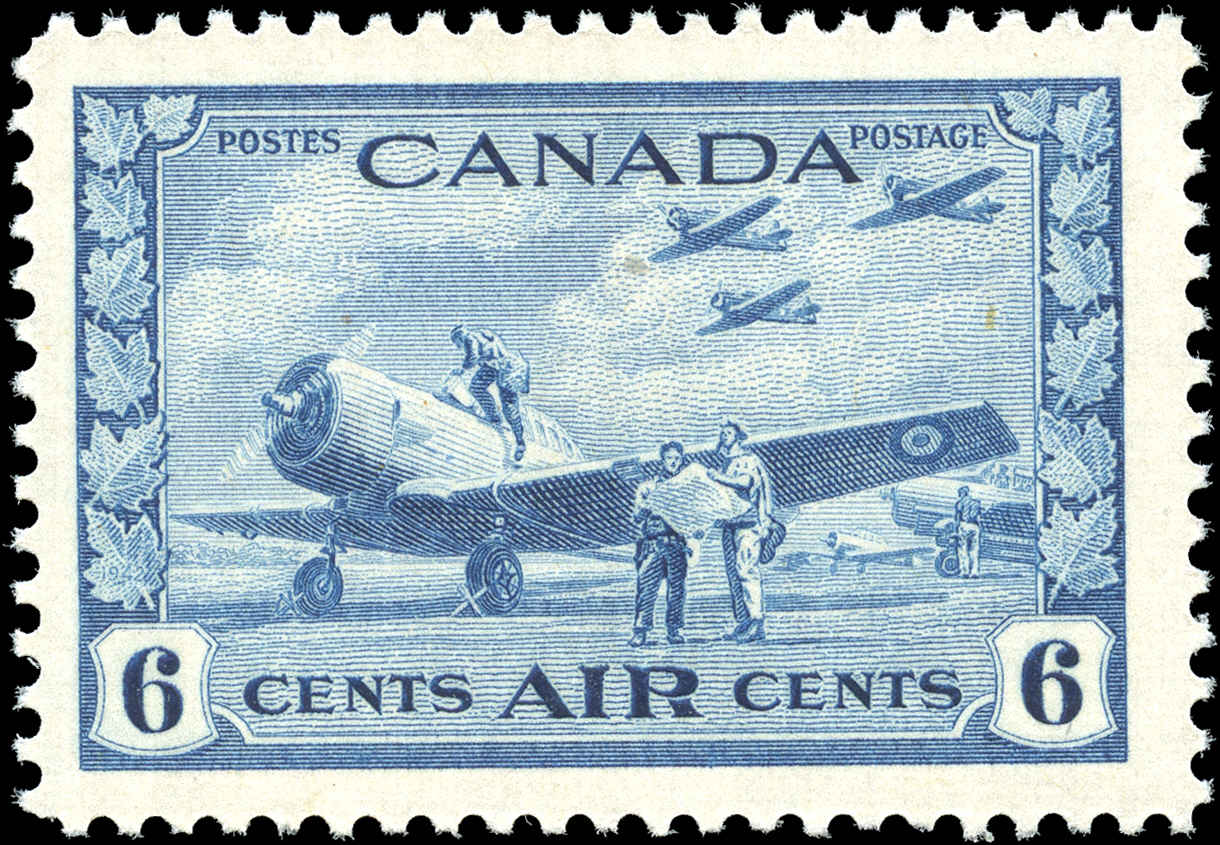 Canada #C7, Airmail Issue, F-VF, MH.